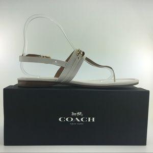 Coach Caterine Cream, Gold Size 8